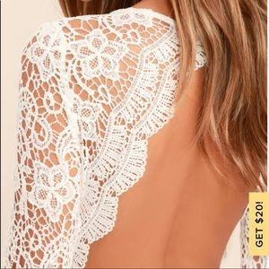 Lulu's Dresses - SOLD Lulu's Awaken My Love Lace Wedding Dress S